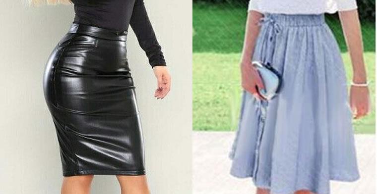 que tipo de faldas usan las cristianas