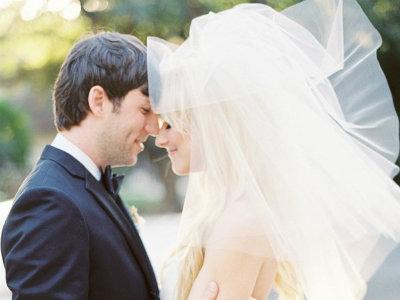 velo en el matrimonio