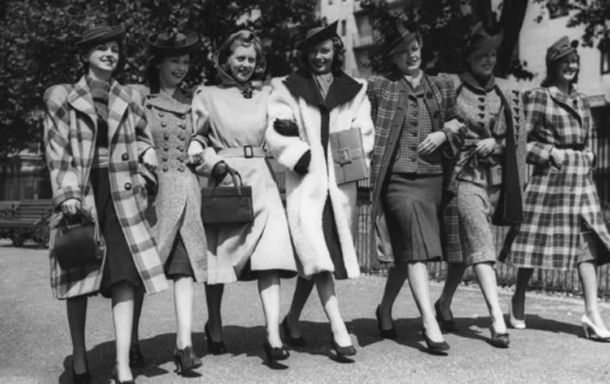 vestimenta de mujer en el siglo pasado